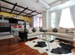 An apartment  on the banks of the Neva with the repair and equipment 93 sq m