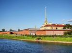 Peter and Paul Fortress in 5 minutes on foot